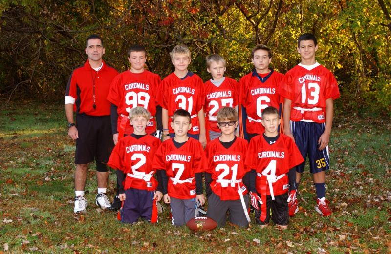 2013 Cardinals with Captain Jimmy